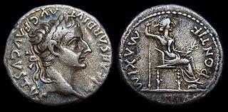 Emperor Tiberius Denarius [Tribute Penny]